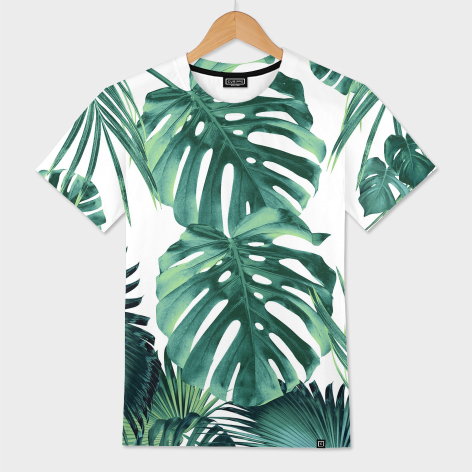 Tropical Summer Leaves Jungle Pattern 1 Tropical Decor Men S All Over T Shirt By Anita S Bella S Art Curioos Download this premium vector about hawaii tee print with with tropical leaves., and discover more than 10 million professional graphic resources on freepik. tropical summer leaves jungle pattern 1 tropical decor men s all over t shirt by anita s bella s art curioos