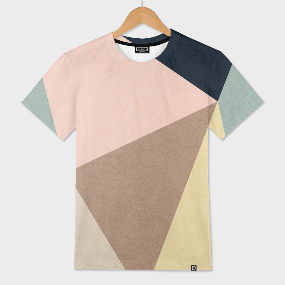 Minimalneutraltriangles And Colors Mens All Over T Shirt By