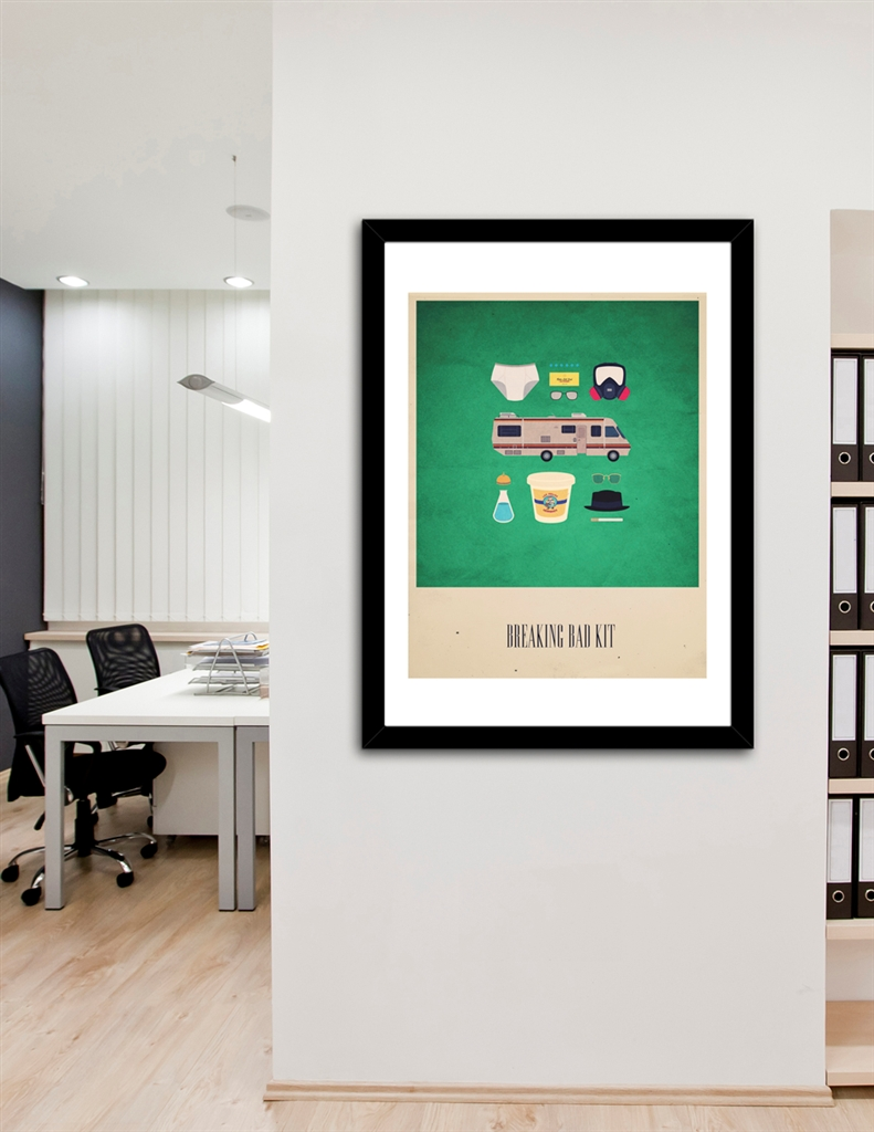 The Breaking Bad Kit» Art Print by AF | Curioos