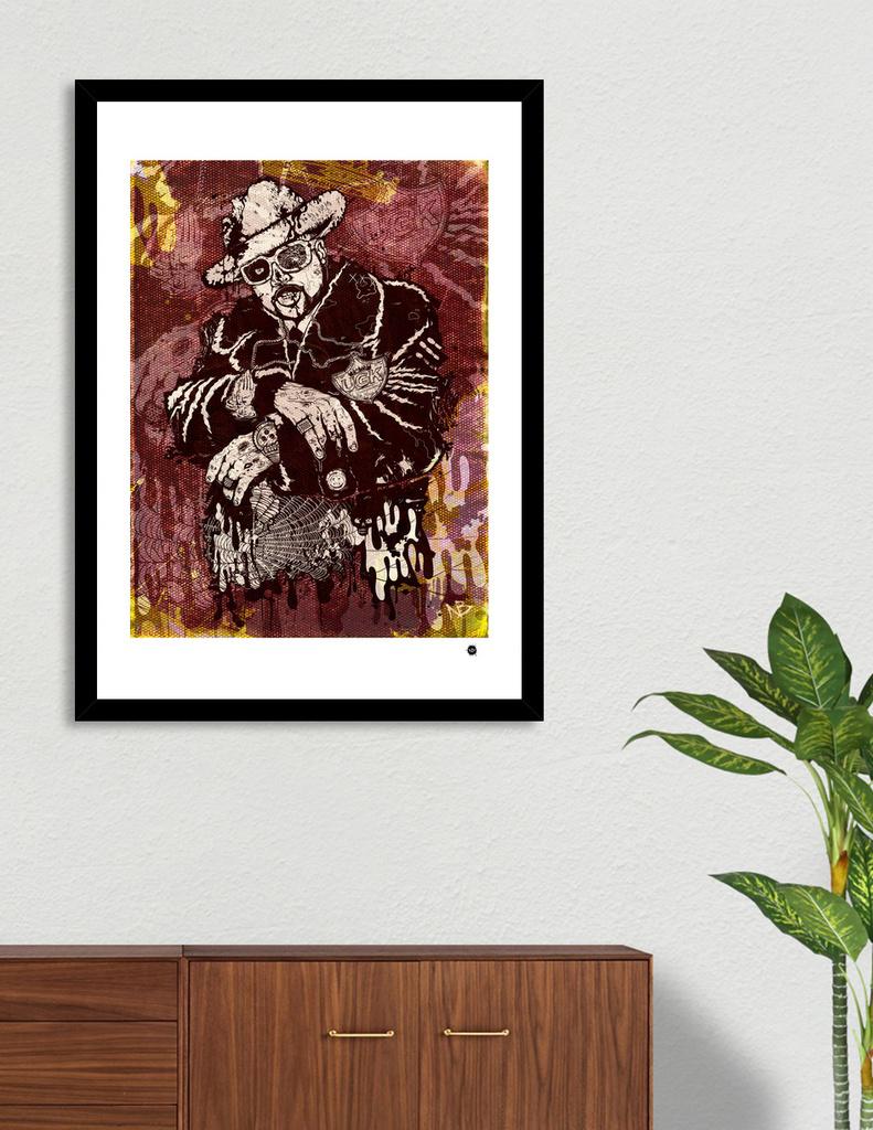 d94f32180555 «Pimp Z» Art Print by Nick Beery