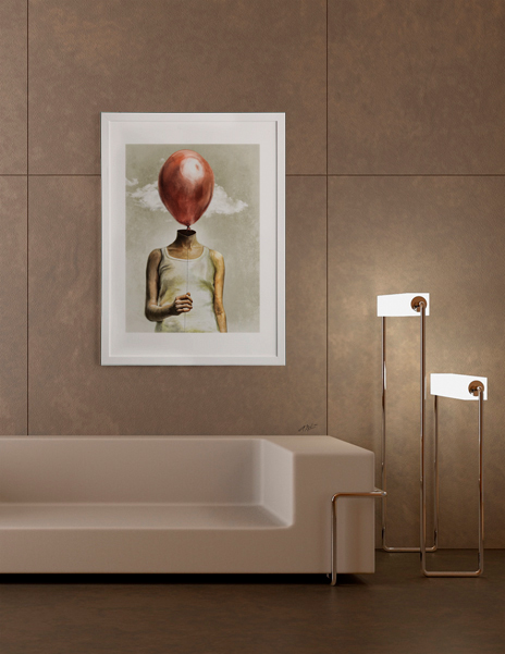 My Little Friend Art Print By Anthony Giacomino Curioos