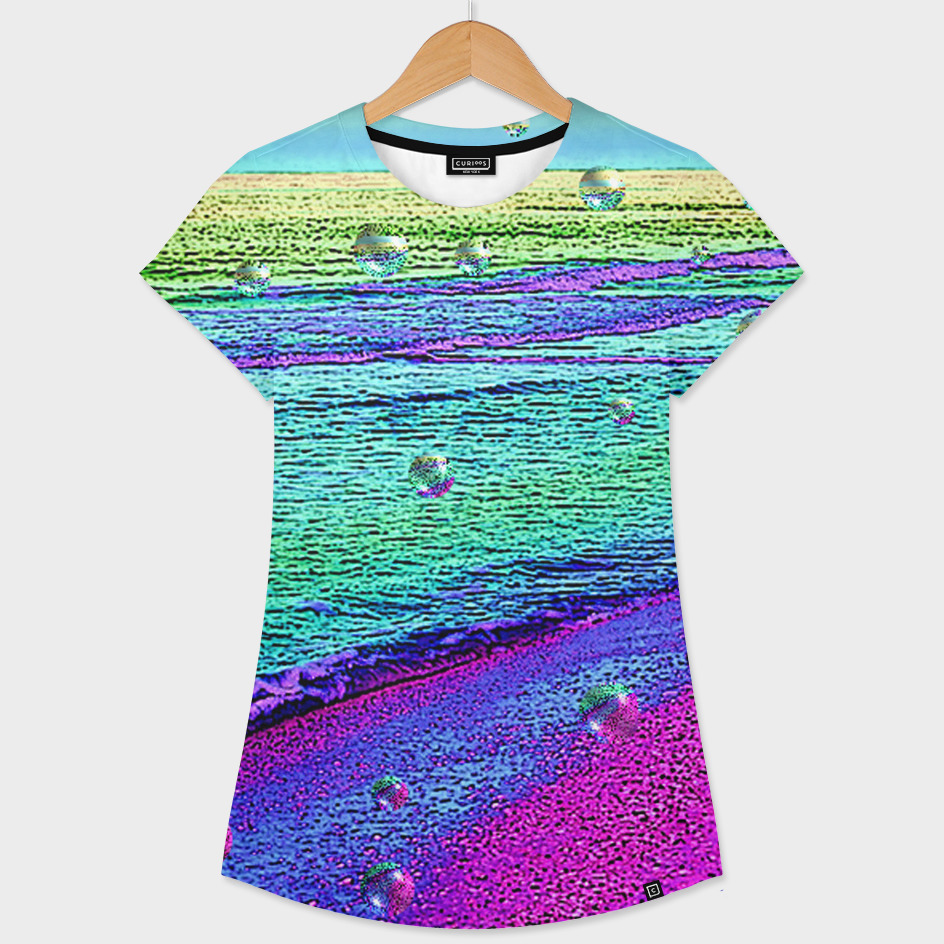Bubble Migration» Women s All Over T-Shirt by G-link  f779f4e881